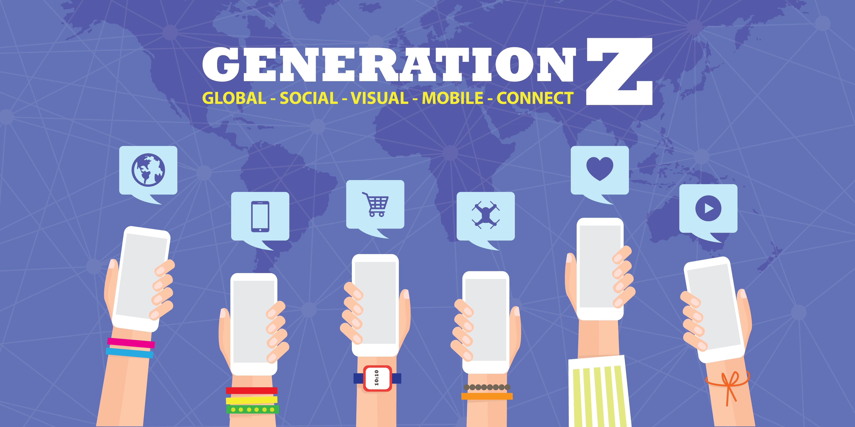 Imagem que está escrito geração Z, geração essa que vai abalar o futuro do mercado brasileiro