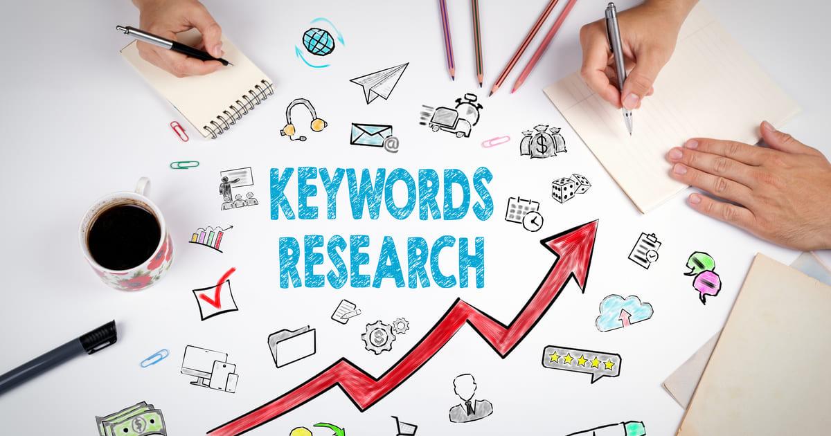 Foto ilustrativa de keywords research que significa busca por palavras-chave para remeter ao assunto tratado no texto