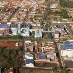 Imagem área da cidade para inspirar quem deseja abrir empresa em Barretos