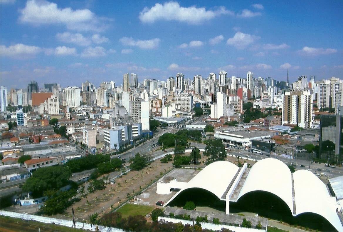 Imagem aérea do bairro para remeter ao profissional que está em busca de um escritório de contabilidade na Barra Funda em São Paulo
