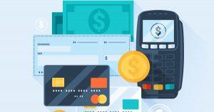 Imagem com as principais formas de pagamento utilizadas pelos comerciantes para remeter ao empreendedor que ainda está decidindo qual a condição de pagamento deve escolher