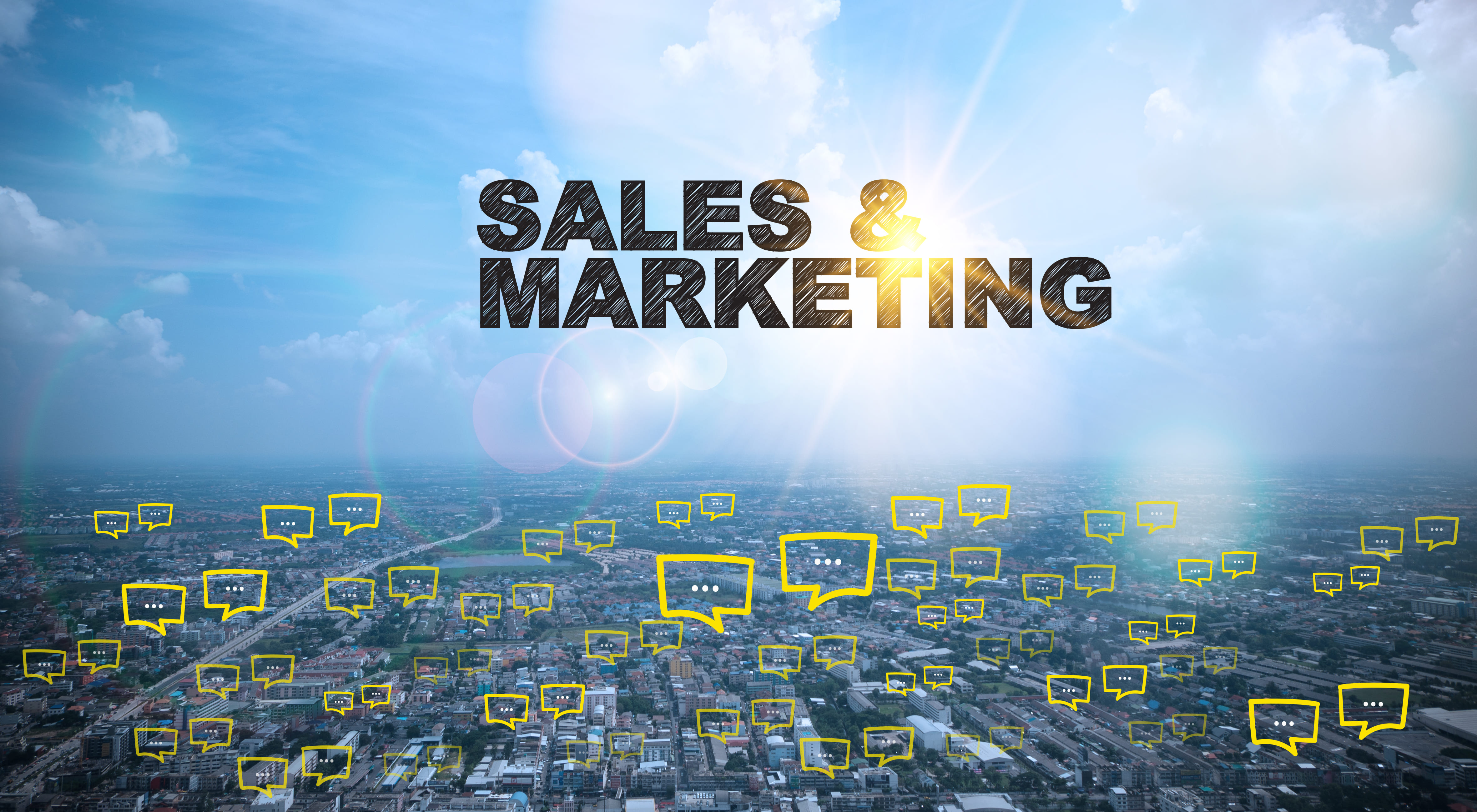 Imagem de sales marketing para remeter ao vendarketing abordado no texto