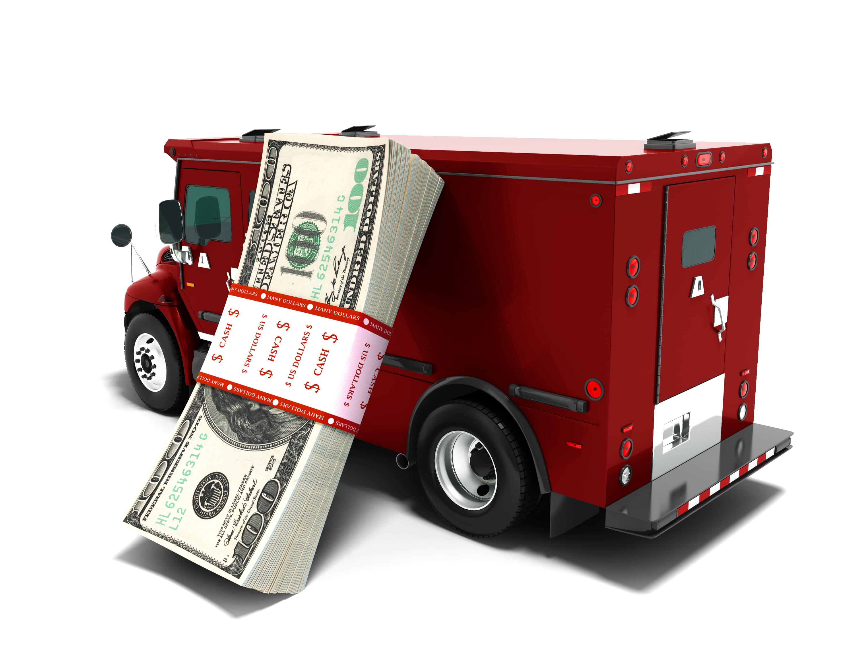 Imagem de um carro forte para remeter ao empreendedor que deseja abrir uma empresa de transporte de valores