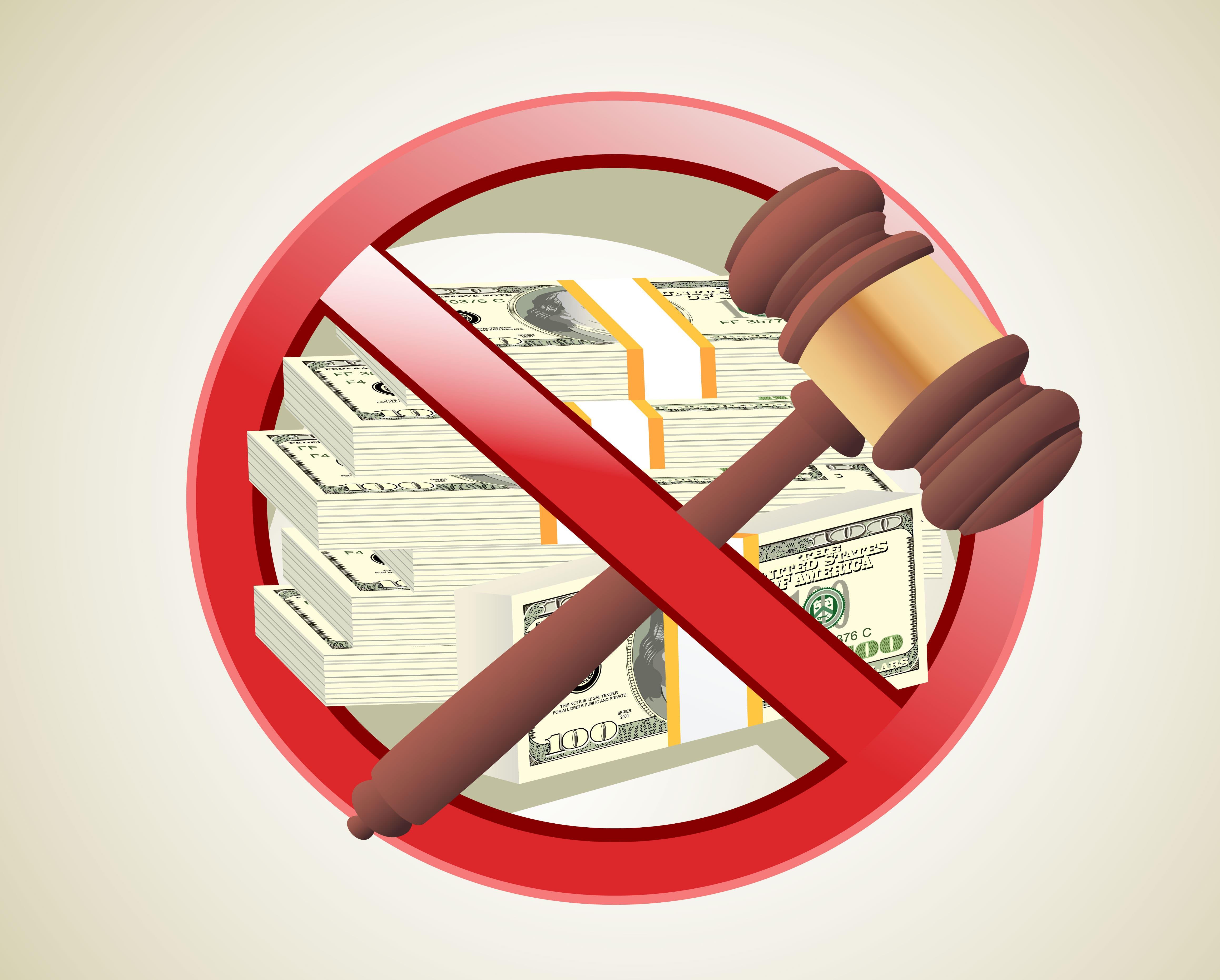 Imagem de um dinheiro confiscado para remeter ao caixa 2 nas empresas