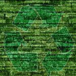 Imagem de um símbolo de reciclagem para remeter quem deseja abrir uma fábrica de tijolos ecológicos