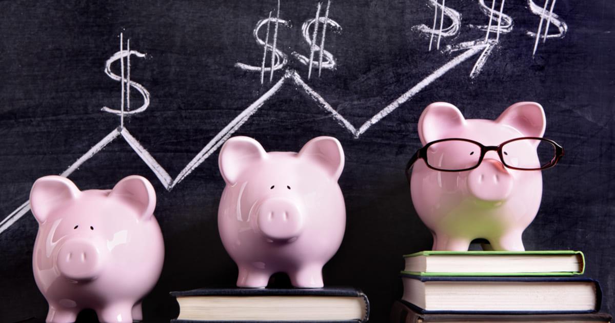 foto de cofre de porco, representando a educação financeira
