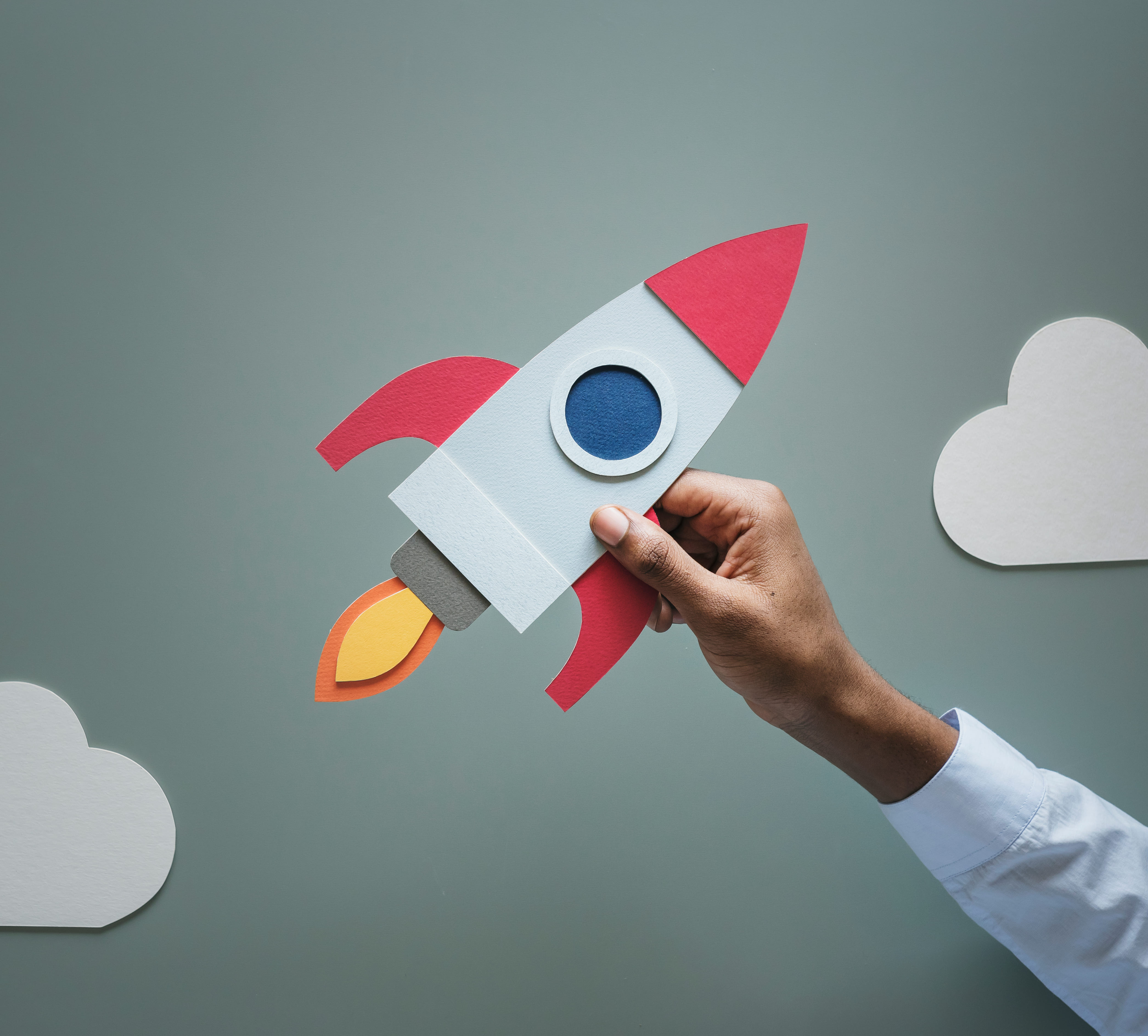 Imagem de foguete subindo para remeter as matérias para empreendedores que bombaram em 2018