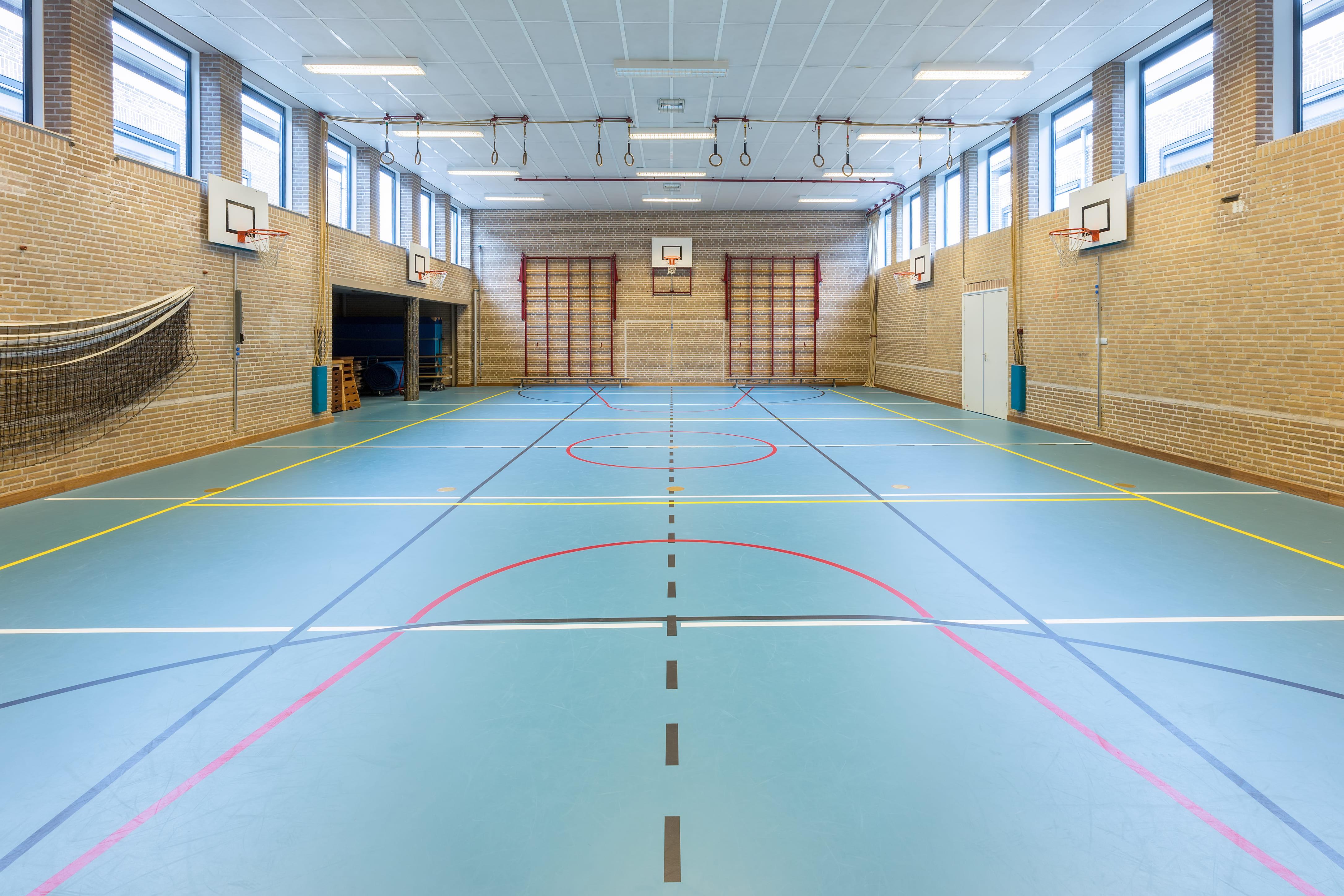 Imagem de uma quadra para remeter quem deseja montar um serviço de locação de quadras esportivas