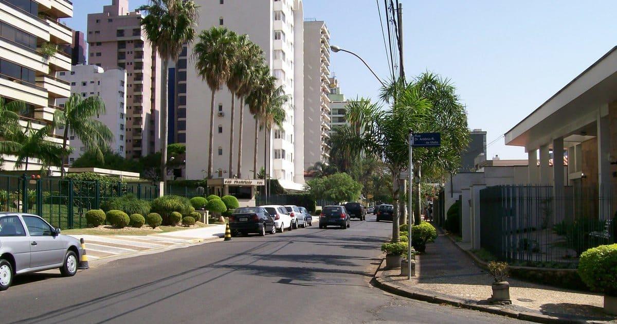 foto de rua da cidade, representando como abrir empresa em cambuí