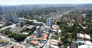 Foto de casas do bairro, representando como abrir empresa no jabaquara