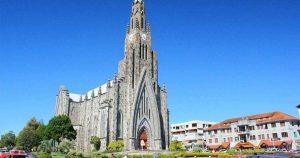 Imagem da igreja para inspirar quem deseja abrir empresa em Canela