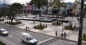 foto de praça da cidade, representando a contabilidade no centro de camaçari