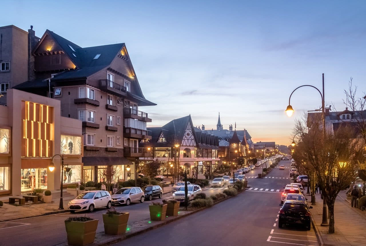 Imagem da cidade para quem vai abrir empresa em Gramado