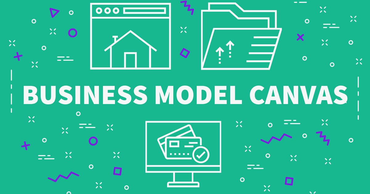 Imagem do Business Model Canvas para remeter ao texto