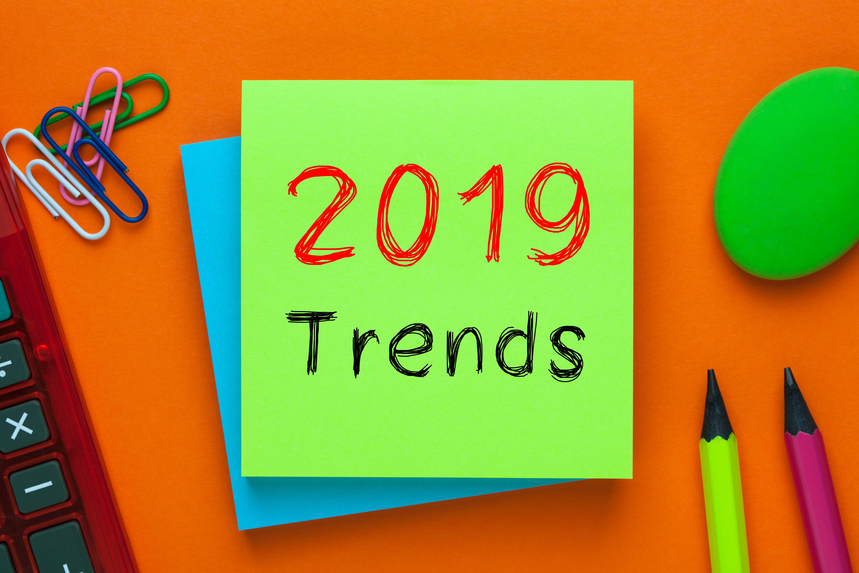 Imagem de um post com a mensagem tendências de 2019 para remeter a como identificar tendências de mercado