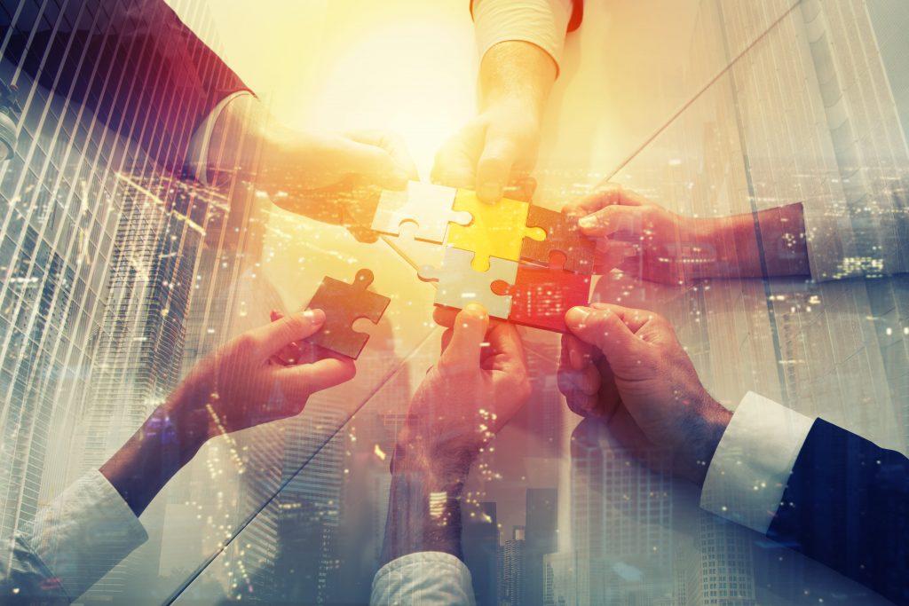 Imagem de um time para remeter a sociedade que retratamos no texto de como abrir empresa LTDA