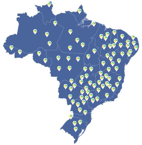 Mapa de unidades - Abertura Simples