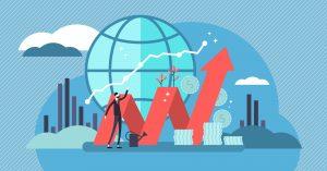 ilustração de varios vetores representando o lucro presumido para empresas