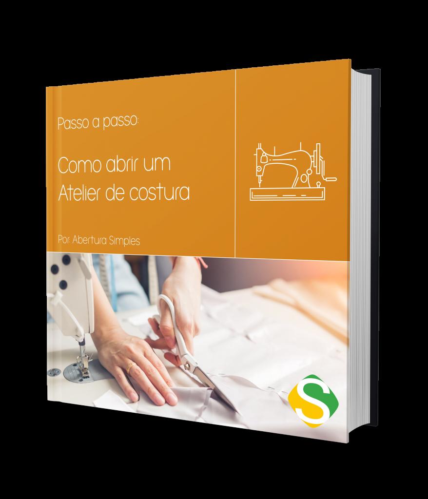 capa do ebook de como abrir um atelier de costura