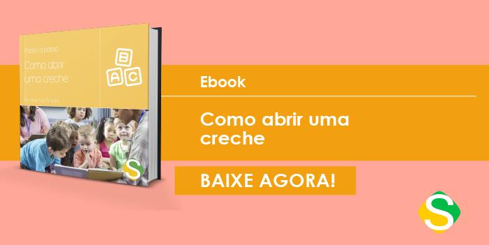banner do ebook de como abrir uma creche