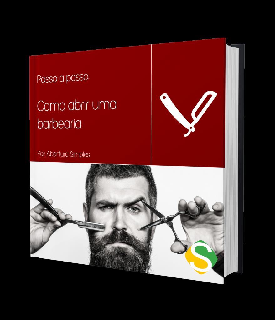 capa do ebook de como abrir uma barbearia