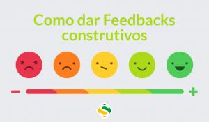 thumbnail com ilustração de como dar feedbacks positivos ou construtivos para seus colaboradores