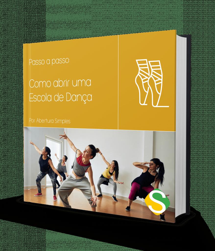 capa do ebook de como abrir uma escola de dança